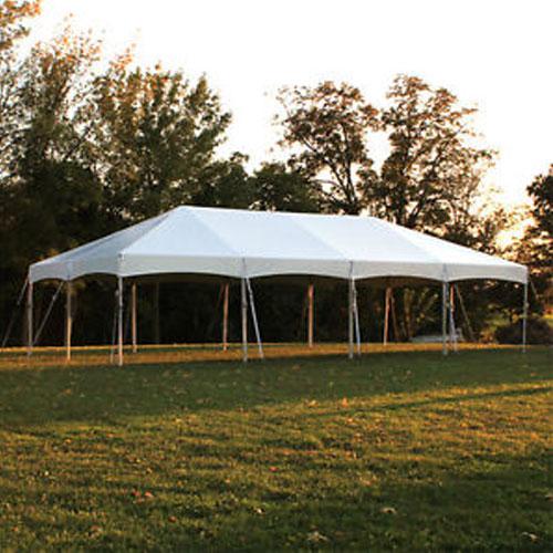 White Frame Tent Joy Party Rentals